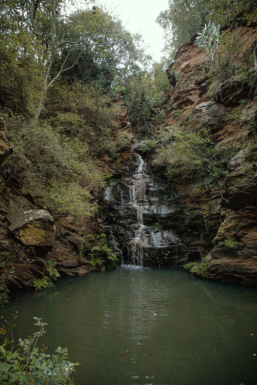 farmhouse waterfall