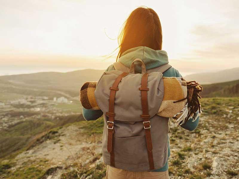road trip backpacker